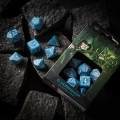 Dice Set Elvish Glacier & White (7) 2