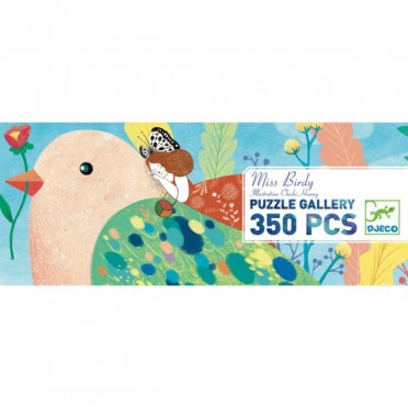 Puzzle Gallery- Miss Birdy – 350 Pièces