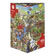 Puzzle - History River - 1500 Pièces