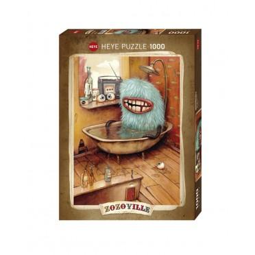 Puzzle - Zozoville Bathtub - 1000 Pièces
