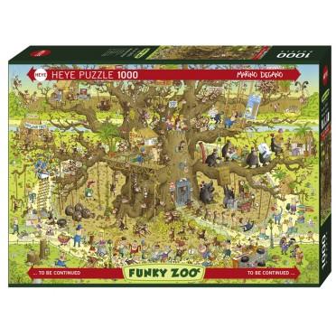 Puzzle - Monkey Habitat - 1000 Pièces