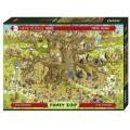 Puzzle - Monkey Habitat - 1000 Pièces 0