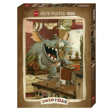 Puzzle - Zozoville Laundry Day - 1000 Pièces