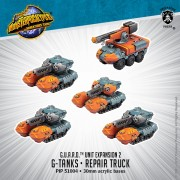 Monsterpocalypse - Protector - G-Tanks & Repair Truck