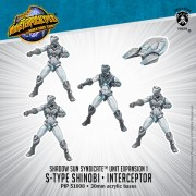 Monsterpocalypse - Protectors - Shinobi & Interceptor