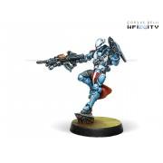 Infinity - Panoceania - Crusader Brethren (Multi-Rifle + Light Ft)