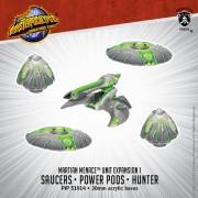 Monsterpocalypse - Destroyers - Saucers, Power Pods & Hunter