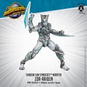 Monsterpocalypse - Protectors - Zor-Raiden