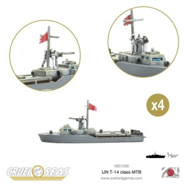 Cruel Seas: Imperial Japanese Navy - T-14 Class MTB