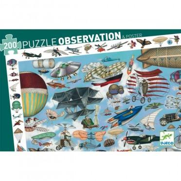 Puzzle Observation: Aéro Club – 200 Pièces