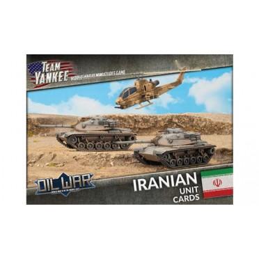Team Yankee - Iranian Unit Cards