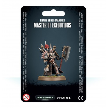 W40K : Chaos Space Marines - Master of Executions