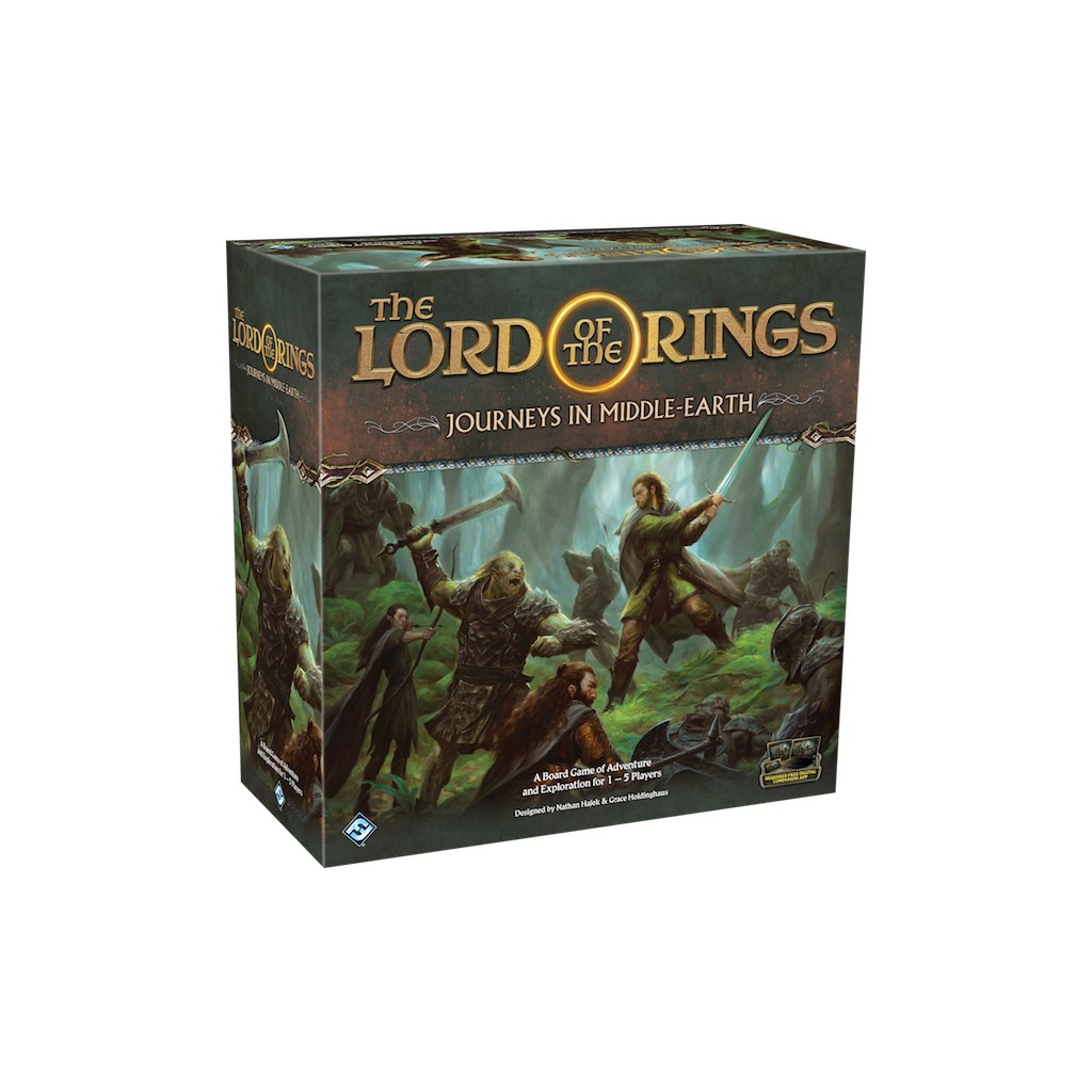 Buy The Lord of the Rings: Journeys in Middle-Earth - Board Game