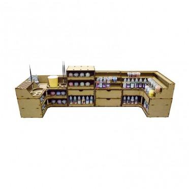 Paint Shelves Fidalgo Large Pack