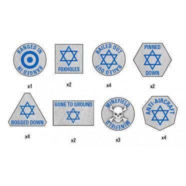 Team Yankee - Israeli Token Set