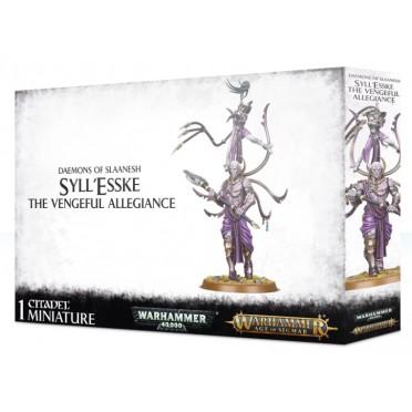 Age of Sigmar : Daemons of Slaanesh - Syll'Esske The Vengeful Allegiance