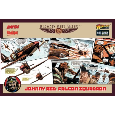 Blood Red Skies - Johnny Red's Falcon Squadron