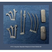 Iroquoian Separate Weapons & Great Shields 2