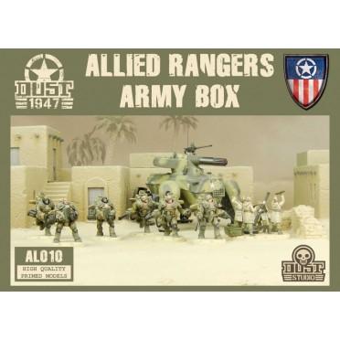 Dust - Allied Rangers Army Box