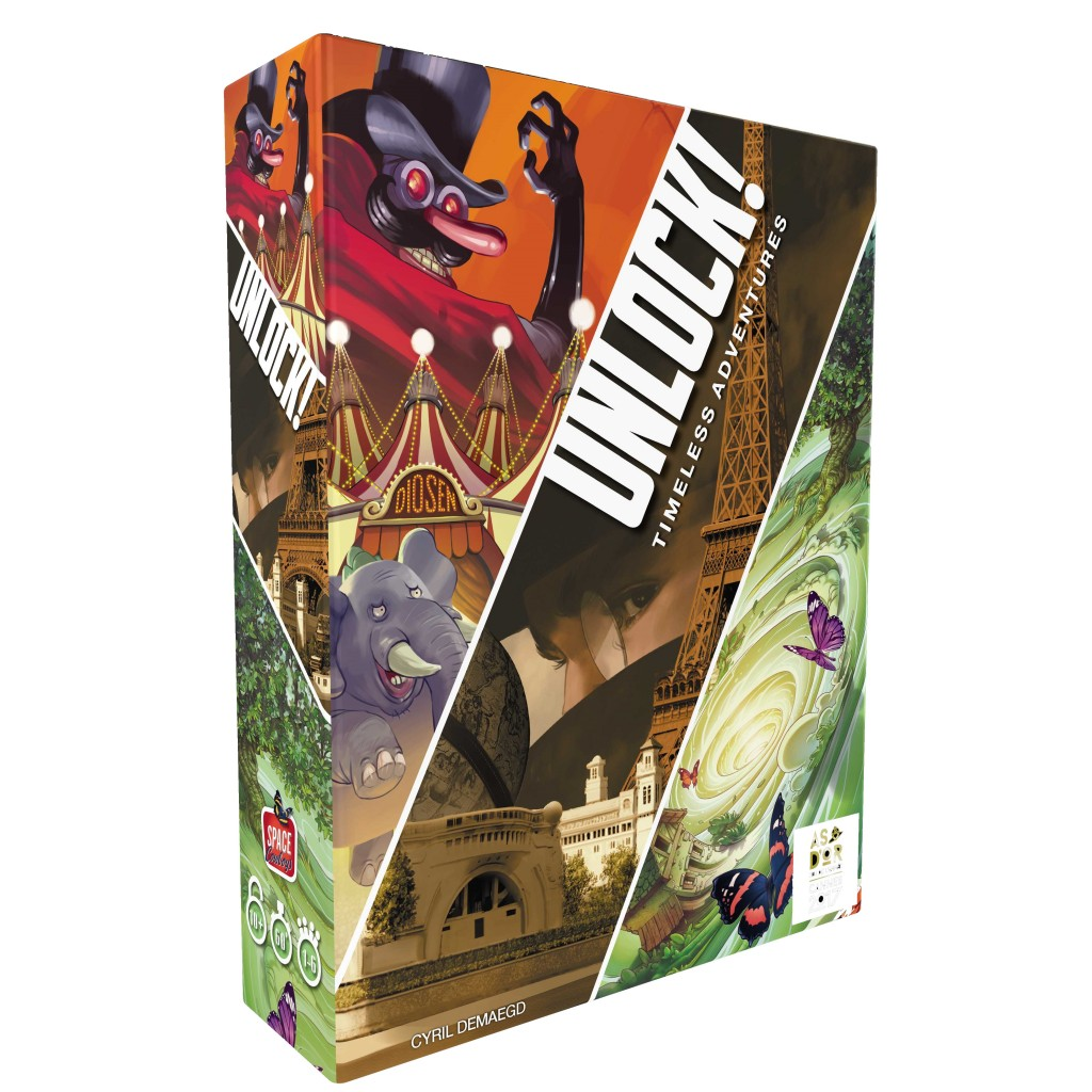 Buy Unlock! Timeless Adventures - Board Game - Space Cowboys