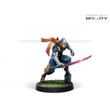 Infinity - NA2 - Saito Tōgan, Mercenary Ninja (Combi Rifle)
