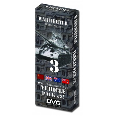Warfighter WWII Expansion 38 – Vehicles 3