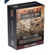Flames of War - Fortress Europe British Unit cards