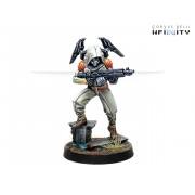 Infinity - Mercenaries - Raoul Spector, Mercenary Operative (Boarding Shotgun)