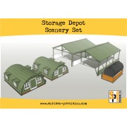 Storage Shelter Scenery Set