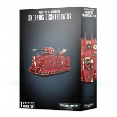 Warhammer 40,000 : Adeptus Mechanicus - Skorpius Disintegrator