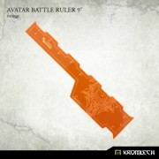 "Avatar Battle Ruler 9"" [orange]"