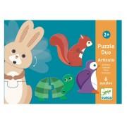 Puzzle Duo : Articulo Animaux