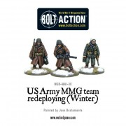 Bolt Action - US Army MMG team (Winter) - Redeploying