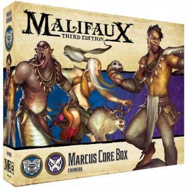 Malifaux 3E - Arcanists/Neverborn- Marcus Core Box
