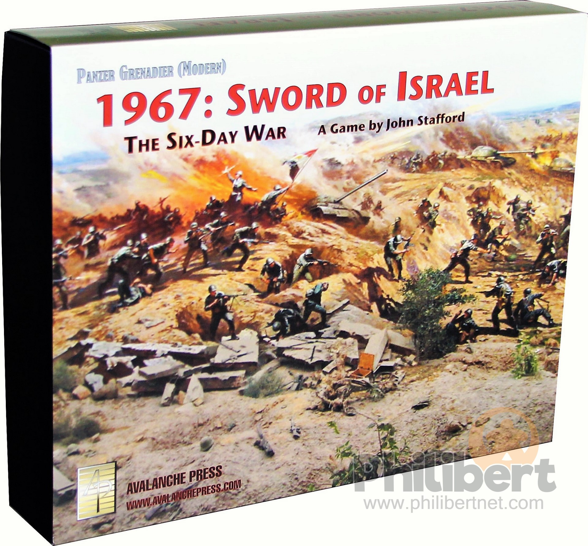Panzer Grenadier Modern - 1967: Sword of Israel
