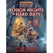 Boite de Warhammer Fantasy Roleplay- Rough Nights & Hard Days