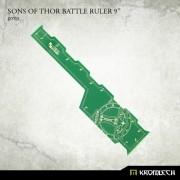 "Sons of Thor Battle Ruler 9"" [green]"