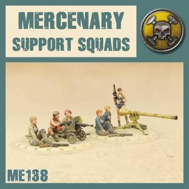 Dust - Mercenary Support Squads