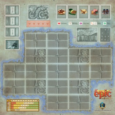 Game Mat: Tiny Epic Quest