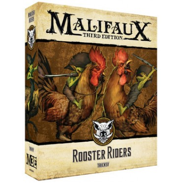 Malifaux 3E - Bayou - Rooster Riders