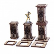 Temple Columns x4