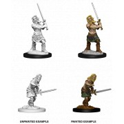 Pathfinder Battles - Dwarf Male Barbarian