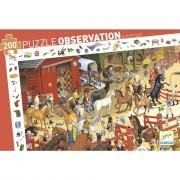Puzzle observation - Equitation 200 pièces