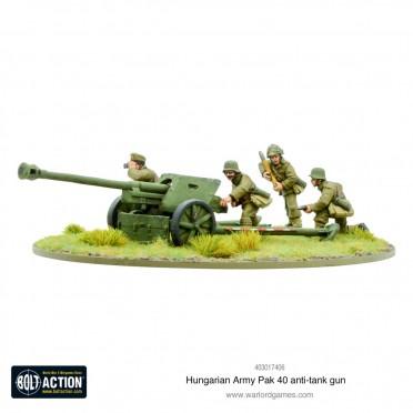 Bolt Action - Hungarian Army Pak 40 anti-tank Gun