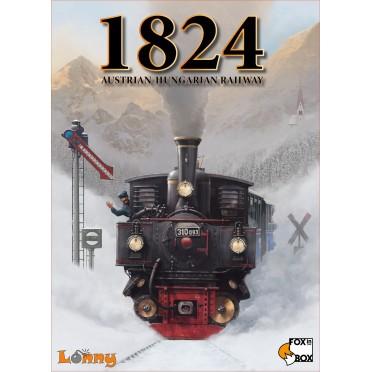 Buy 1824 Austrian Hungarian Railway Board Game Fox In