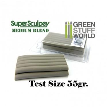 Super Sculpey Medium Blend 55 gr. - Taille d'essai