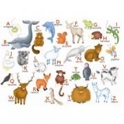 Puzzle - L'Alphabet des Animaux d' Hannah Weeks - 12 Pièces