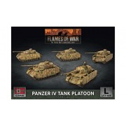 Flames of War - Panzer IV Tank Platoon