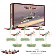 Blood Red Skies - Soviet- Mikoyan-Gurevich MiG-3 Squadron, 6 Planes