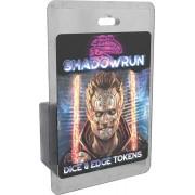 Boite de Shadowrun - Dice & Edge Tokens